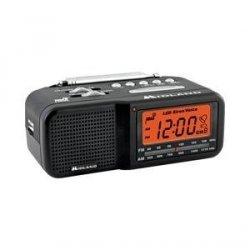 AES Prowler Night Vision Invisible IR Radio Clock DVR Camera