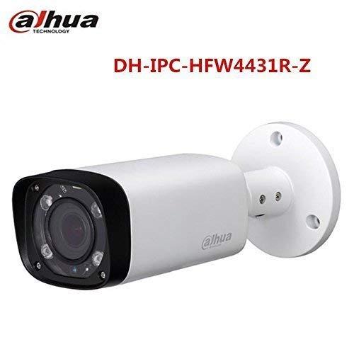 Bullet Camera HFW4431R-Z 4MP Network IP Camera POE IP66 Night Version Outdoor ONVIF H.265 2.7-12mm Motorized Lens International Version