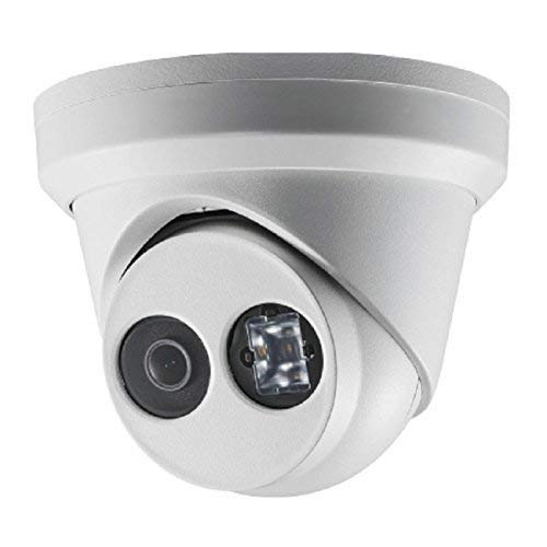 4K PoE Security IP Camera - Compatible as Hikvision DS-2CD2385FWD-I UltraHD 8MP Turret Onvif IR Night Vision Weatherproof WideAngle 2.8mmLens Best for Home and Business Security, 3 Year Warranty