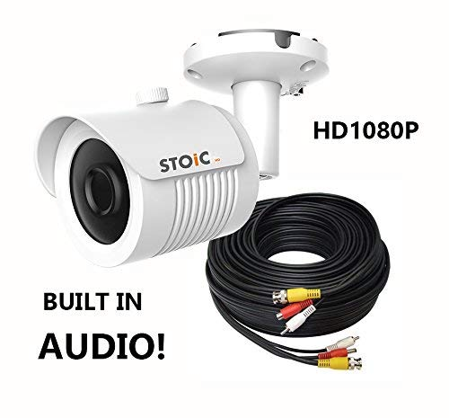 Samsung Compatible AUDIO Bullet Camera Kit w/Cable 2MP for SDH-C85100, SDR-C85300