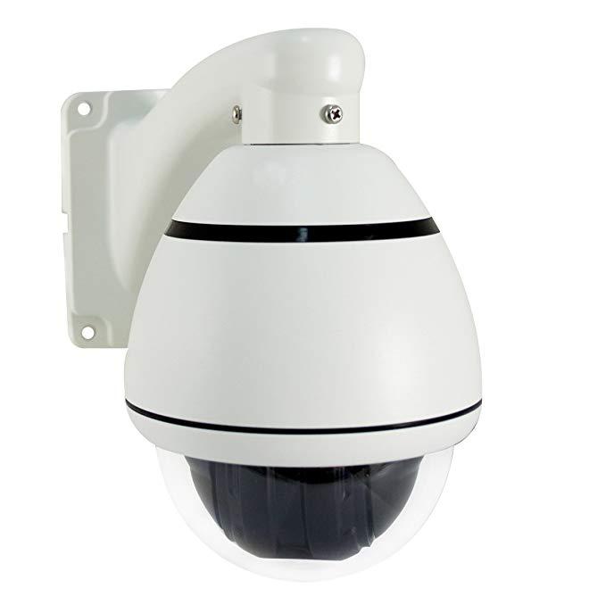 LineMak Outdoor mini PTZ dome camera, Sony CCD sensor, 700TVL, lens 3.8~38mm, 10x optical zoom, for DVR or surveillance systems.