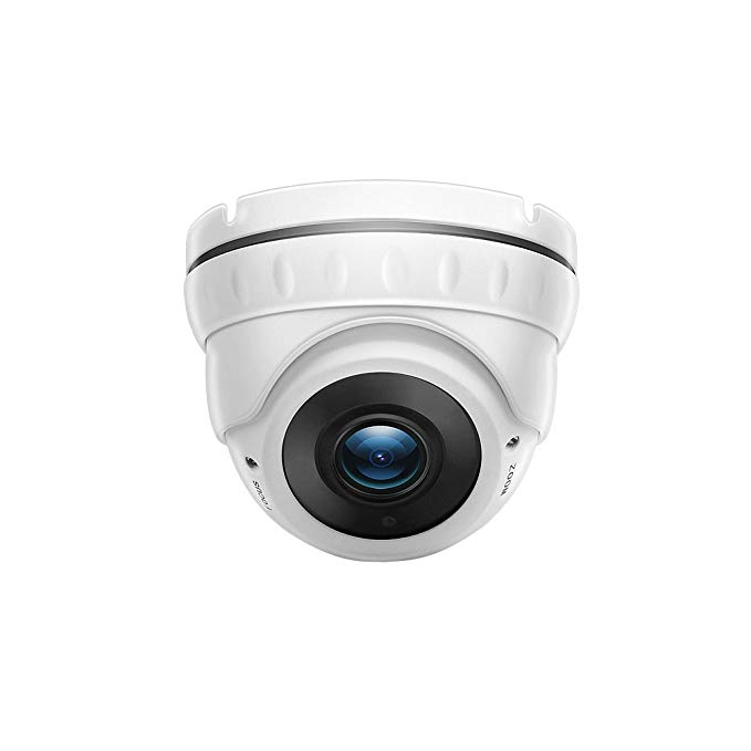 TMEZON 2.0MP HD-TVI Outdoor HD Dome Camera 2.8-12mm Zoom Lens 1080P Sony Sensor 36IR 99ft Night Vision ONLY Work with HD-TVI DVR
