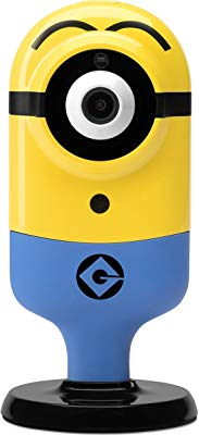 Despicable Me Indoor HD WiFi Stuart Flexi Cam (Surprised), Yellow (TP0012)