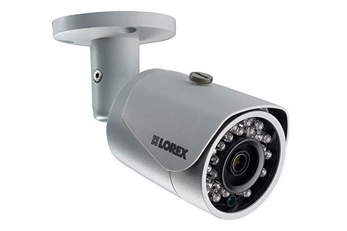 Lorex LNB4163B 4MP IP PoE Bullet Camera with color night vision