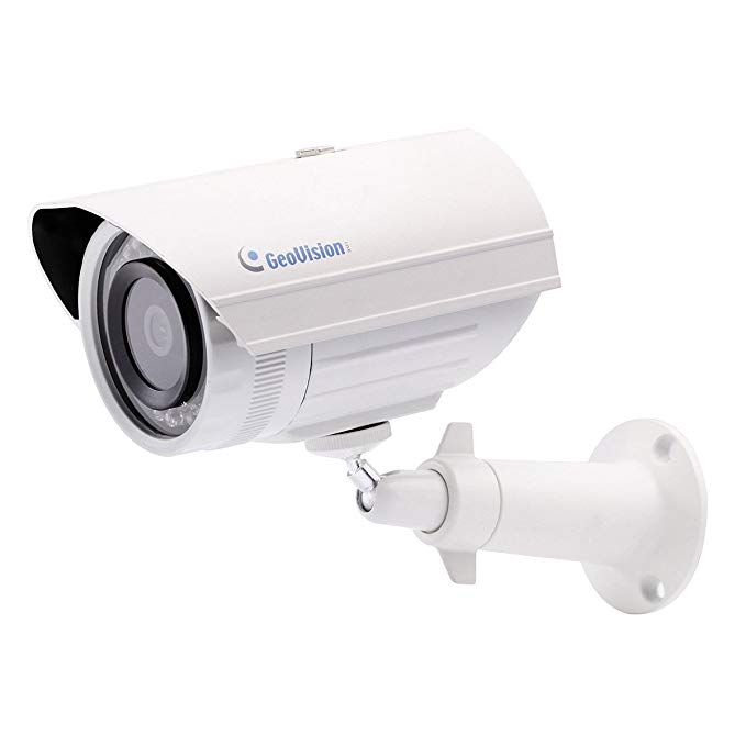 Geovision GV-EBL1100-1f | Target series 1.3MP 6mm, H.264, Low Lux, WDR, IR, IP Bullet Camera