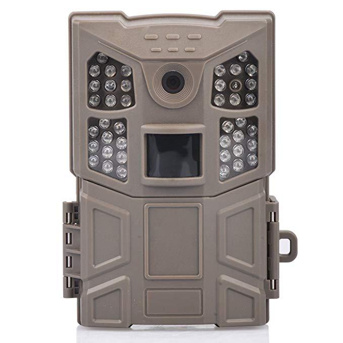 KVD Trail Camera, 16MP 1080P Wildlife Camera Hunting Game Camera with Night Vision