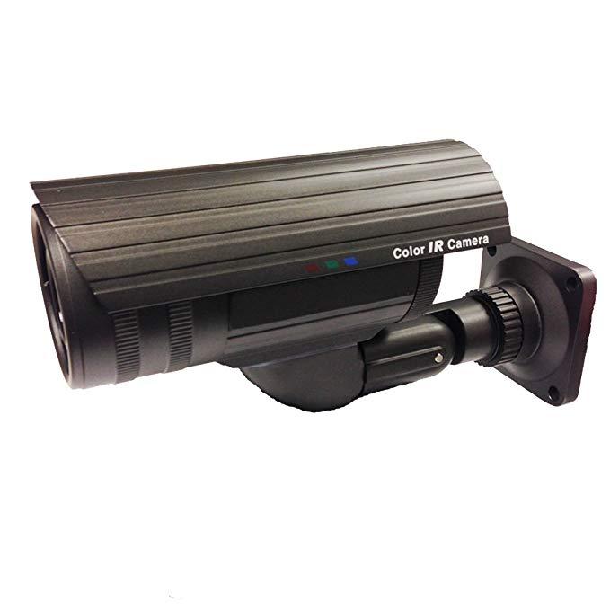 101AV 800TVL Bullet Camera 1/3 SONY 960H CCD 2.8-12mm Varifocal Lens 100ft IR Range 36pcs Infrared LEDs OSD Control WDR Wide Dynamic Range Weatherproof Vandal proof Metal Housing High Resolution Colo