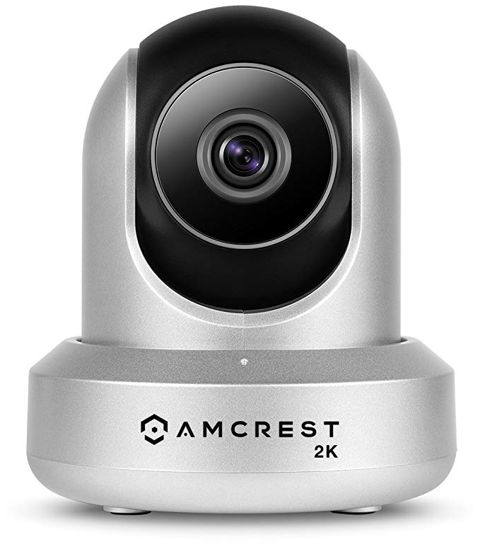 Amcrest IP3M-941S UltraHD 2K HD Security Camera, Silver
