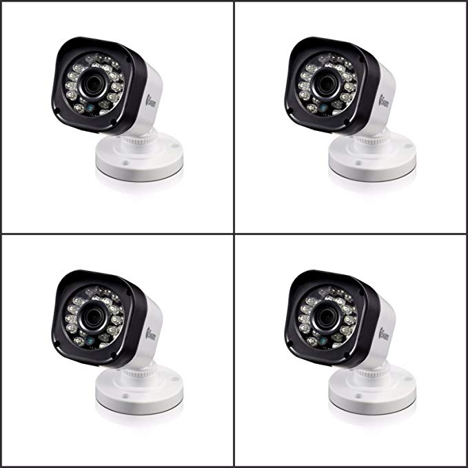 Swann New SRPRO-T835BWB4-US, PRO-T835 720p HD Bullet Security Camera 4 PACK