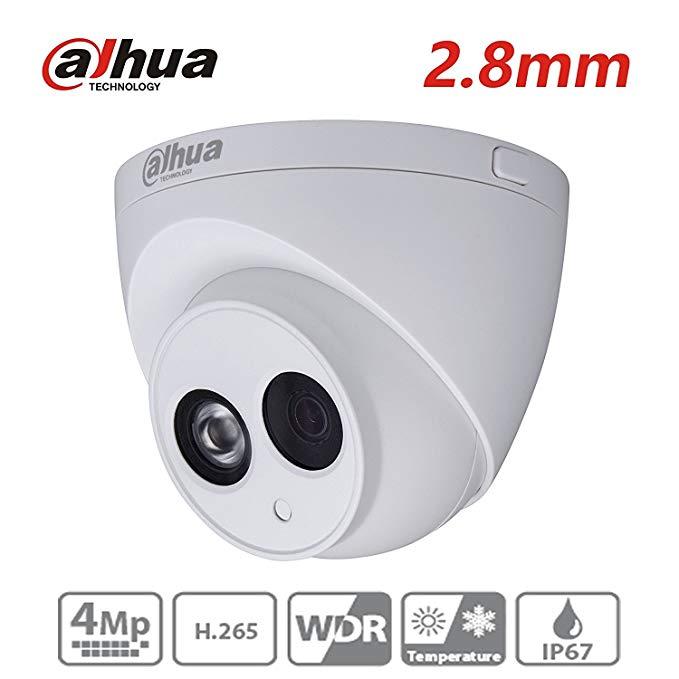 Dahua HDW4431C-A 2.8mm 4MP Dome IP Camera POE IP67 Night Version Outdoor ONVIF H.265 Network Camera International Version