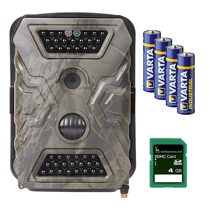 Wild-Vision Full HD 5.0 Trail and Game Camera, Premium Pack