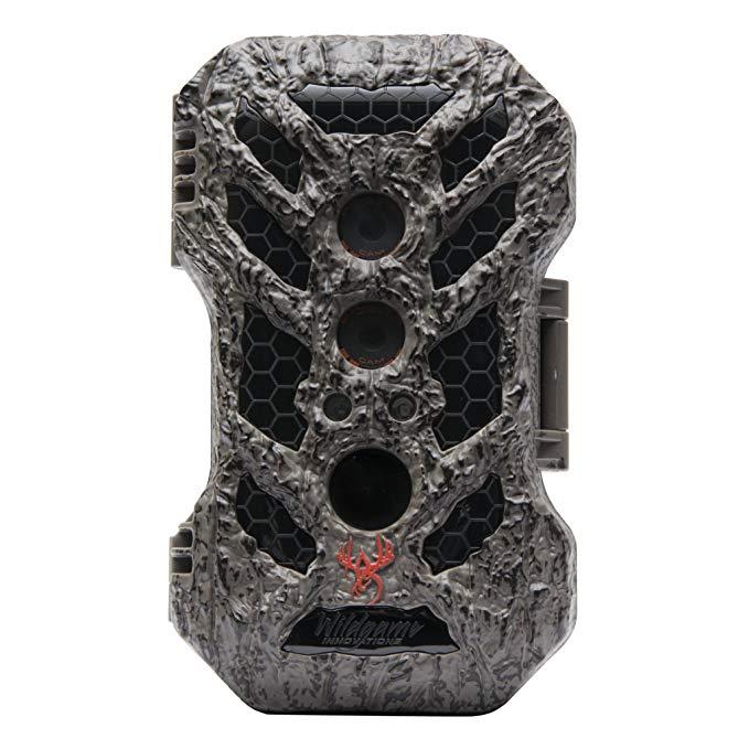 Wildgame Innovations SC24B20-8 Silent Crush Cam, 24 MP, Black LED, Tru Bark