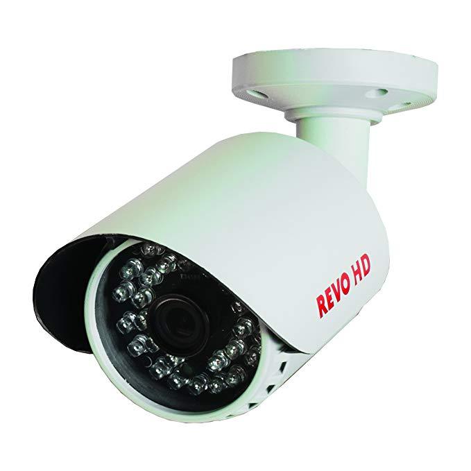 REVO America RCHBS30-2C HD IP 2.1 Megapixel Indoor/Outdoor Bullet Surveillance Camera (Grey)