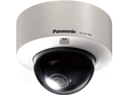 Panasonic WVSF346 H.264 High Definition Vandal-Resistant Fixed Dome Network Camera