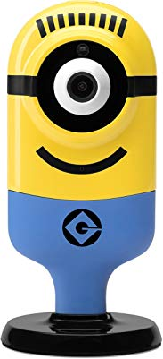 Despicable Me Indoor HD WiFi Carl Flexi Cam (Cheerful), Yellow (TP0011)