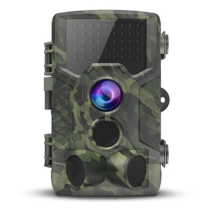 Wildlife Game Hunting Camera with Motion Activated Night Vision,IP65 Waterproof, 120° Wide Angle Lens, Wildlife Camera
