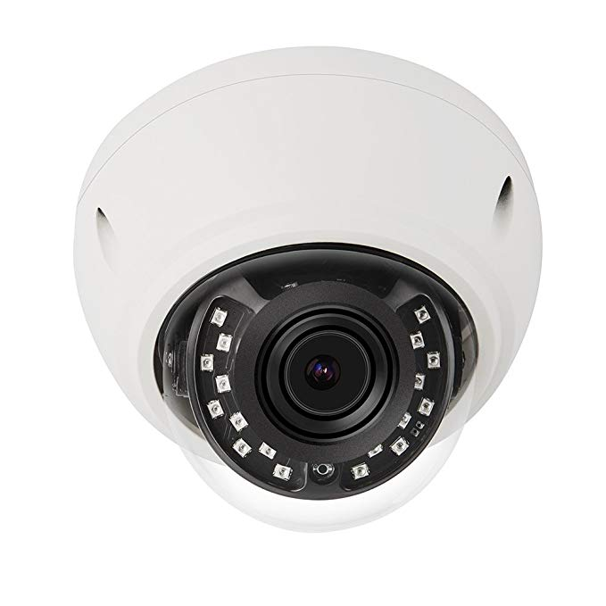 Dome IP Camera, Sea Wit 5MP POE Security Surveillance Camera with Motion Detection and Remote Viewed for Indoor/Outdoor