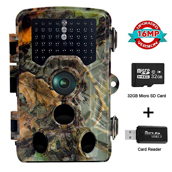 Owsen Trail Camera, 16MP 1080P FHD 2.4
